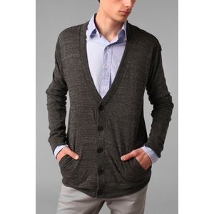 Urban outfitters BDG grey button v neck cardigan S